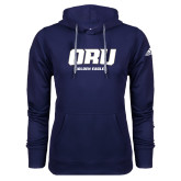 Adidas Climawarm Navy Team Issue Hoodie-ORU Golden Eagles