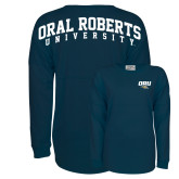 Navy Game Day Jersey Tee-ORU w Mascot