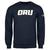 Navy Fleece Crew-ORU
