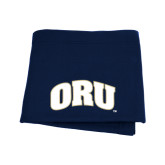 Navy Sweatshirt Blanket-ORU