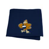 Navy Sweatshirt Blanket-Eli