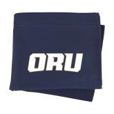 Navy Sweatshirt Blanket-ORU