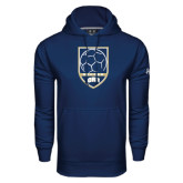 Under Armour Navy Performance Sweats Team Hoodie-ORU Soccer Shield