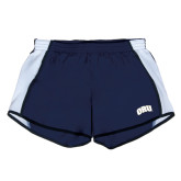 Ladies Navy/White Team Short-ORU