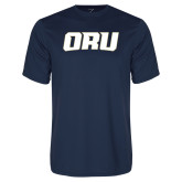 Syntrel Performance Navy Tee-ORU