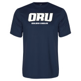 Syntrel Performance Navy Tee-ORU Golden Eagles