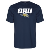 Performance Navy Tee-ORU w Mascot