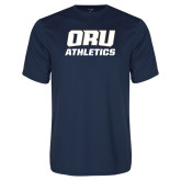 Syntrel Performance Navy Tee-Athletics