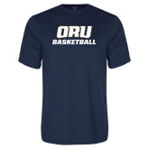 Performance Navy Tee-Basketball