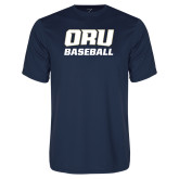 Syntrel Performance Navy Tee-Baseball