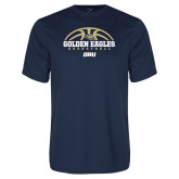 Syntrel Performance Navy Tee-Basketball Arch Design