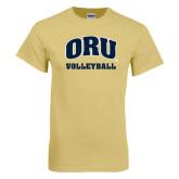 Champion Vegas Gold T Shirt-Volleyball