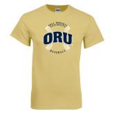 Champion Vegas Gold T Shirt-ORU Baseball Seams