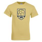 Champion Vegas Gold T Shirt-ORU Soccer Shield