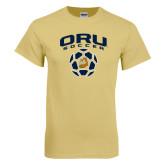 Champion Vegas Gold T Shirt-ORU Soccer Geometric Ball