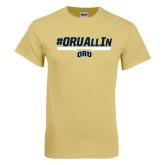 Champion Vegas Gold T Shirt-#ORUAllIn