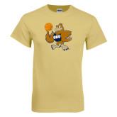 Champion Vegas Gold T Shirt-Basketball Eli