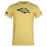Champion Vegas Gold T Shirt-Golden Eagle Mascot