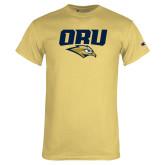 Champion Vegas Gold T Shirt-ORU w Mascot