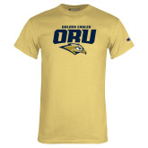 Champion Vegas Gold T Shirt-ORU Golden Eagles Mark