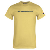 Champion Vegas Gold T Shirt-Wordmark