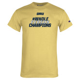 Champion Vegas Gold T Shirt-Whole Person Champions