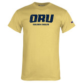 Champion Vegas Gold T Shirt-ORU Golden Eagles Distressed