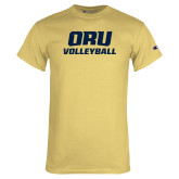 Champion Vegas Gold T Shirt-Volleyball