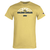 Champion Vegas Gold T Shirt-Basketball Arch Design