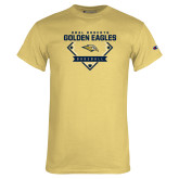 Champion Vegas Gold T Shirt-Baseball Plate Design