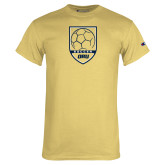 Champion Vegas Gold T Shirt-Soccer Shield Design