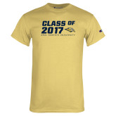 Champion Vegas Gold T Shirt-Class Of Design, Personalized year