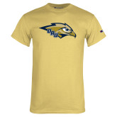Champion Vegas Gold T Shirt-Eagle Head w/ ORU