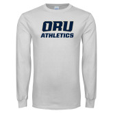 White Long Sleeve T Shirt-Athletics