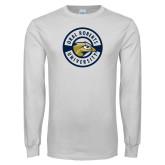 White Long Sleeve T Shirt-ORU Circle Mark