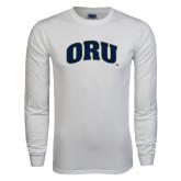 White Long Sleeve T Shirt-ORU