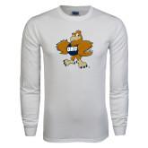 White Long Sleeve T Shirt-Eli