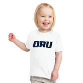 Toddler White T Shirt-ORU