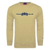 Champion Vegas Gold Fleece Crew-True ORU Blue