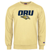 Champion Vegas Gold Fleece Crew-ORU w Mascot
