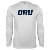 Performance White Longsleeve Shirt-ORU