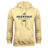 Champion Vegas Gold Fleece Hoodie-Golden Eagles Volleyball Stacked