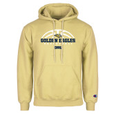 Champion Vegas Gold Fleece Hoodie-Basketball Arch Design