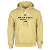 Champion Vegas Gold Fleece Hoodie-Stacked Volleyball Design