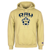Champion Vegas Gold Fleece Hoodie-Soccer Design