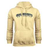 Champion Vegas Gold Fleece Hoodie-Arched Oral Roberts University