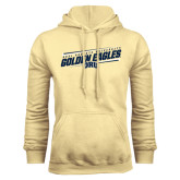 Champion Vegas Gold Fleece Hoodie-Golden Eagles Slanted w/ Logo