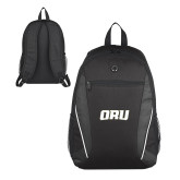 Atlas Black Computer Backpack-ORU