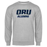 Grey Fleece Crew-Alumni