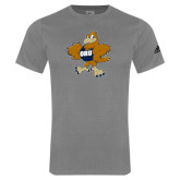 Adidas Sport Grey Logo T Shirt-Eli
